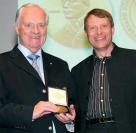 Hans Müller, prezident FCI, Peter Friedrich, předseda NKS